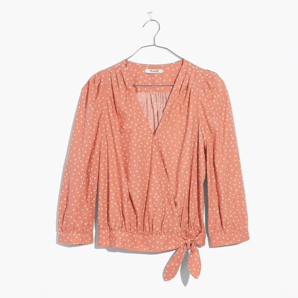 42934fa8ab3fc Madewell Scatter Star Wrap Top